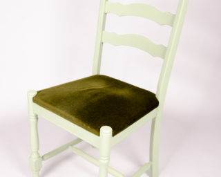 Vintage sfeerlab for Groene stoel