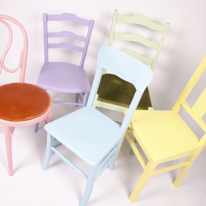 Groene stoel sfeerlab for Groene stoel